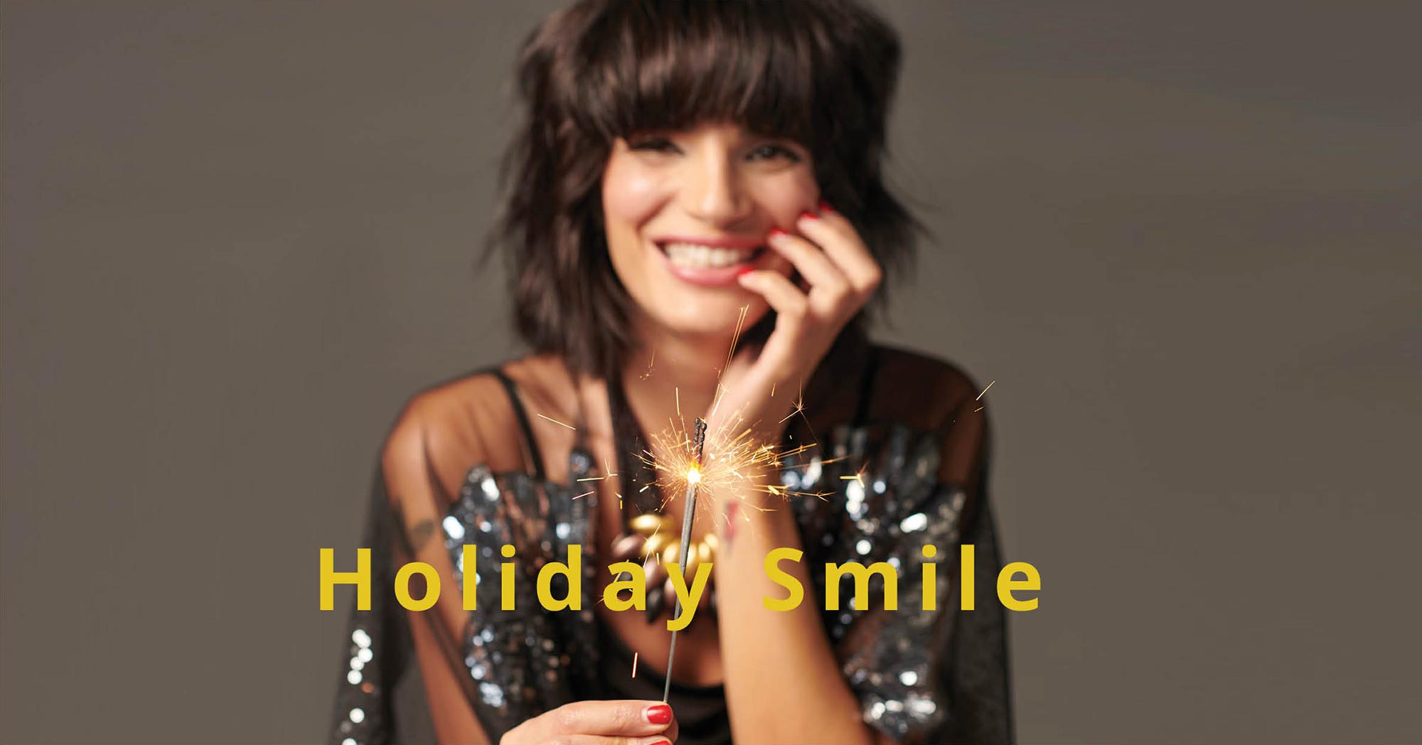 חיוך - האקססורי שלך לחג