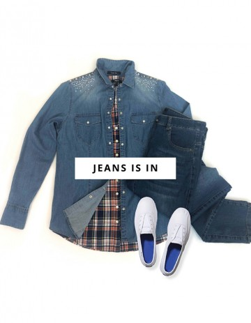 JEANS IS IN